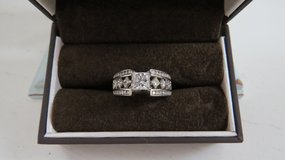 Jared's 3CT Solid 14K White Gold Ring in Houston, Texas