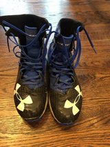 Under Armour football cleats, size 8 in Bolingbrook, Illinois