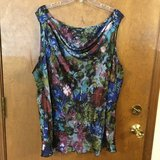 Multi colored Sleeveless top by Spence Woman - 3X in Glendale Heights, Illinois
