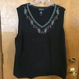Black sleeveless top by Maggie Barnes in Glendale Heights, Illinois