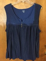 Navy Blue Sleeveless top by Falls Creek in Naperville, Illinois