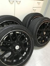 "BADX 18"" Wheels; Yokahoma Advan Tires in Okinawa, Japan"