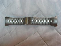 Titanium Watch Band for a D9 Dive Computer in Okinawa, Japan