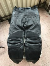 Heavy Leather Motorcycle Riding Pants in Stuttgart, GE