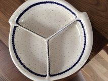 Polish Pottery 3 section serving dish in Wiesbaden, GE