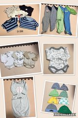Newborn Baby Boy Clothes Lot in Okinawa, Japan
