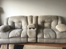 Huge and comfy reclining couch in Okinawa, Japan