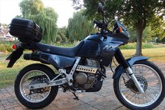 Honda NX650 Dominator in Ramstein, Germany