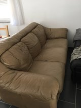 leather couch, used. in Ramstein, Germany