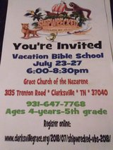 VBS---Shipwrecked in Fort Campbell, Kentucky