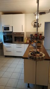 Nice Kitchen with breakfast bar, double oven and dishwasher in Bamberg, Germany