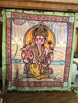 Ganesha, Elephant Tapestry, Bed cover, throw in Okinawa, Japan