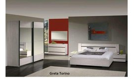 United Furniture - Elizabeth/Greta Torino US Full Size Bed Set as shown with wardrobe $1710 -  w... in Stuttgart, GE