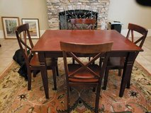 Dining Room Table with 4 Chairs in Columbus, Georgia