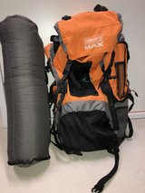 Coleman Backpack & Gound Pad For Sale in Aurora, Illinois