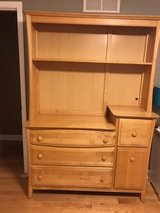 Maple Chaning Dresser/ Changing table in St. Charles, Illinois