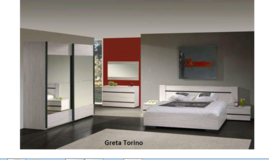 United Furniture -Greta Torino US Full Size Bed Set as shown with wardrobe $1710 - wthout $993.. in Ansbach, Germany