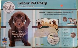 Piddle Place Indoor Pet Potty - NEW IN BOX in Wilmington, North Carolina
