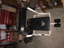 Moving Sale - Vertical Leg Press and Weights in Houston, Texas