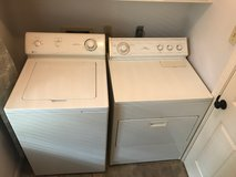 Moving Sale - Washer and Dryer in Houston, Texas
