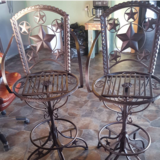 Metal Star Stools in Lawton, Oklahoma