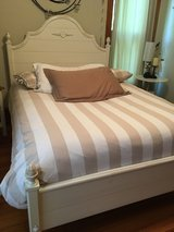 Ethan Allen bed and nightstand in Westmont, Illinois