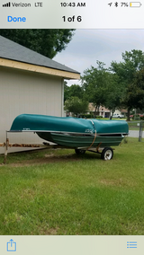 Canoe, 10ft boat and trailer in Perry, Georgia