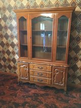"""china cabinet 51x16"""" 73"""" tall in Fort Riley, Kansas"""