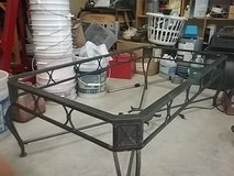 Wroth iron coffee or patio table frame. Has no table top. in Fort Polk, Louisiana