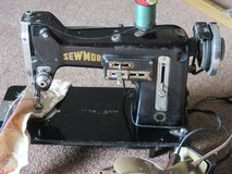 Vintage Sewmor Sewing Machine in Glendale Heights, Illinois