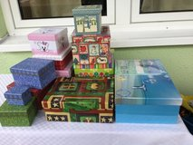Gift boxes (set of 13) in Ramstein, Germany