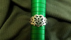 Vintage James Avery Scroled Heart ring in Cleveland, Texas