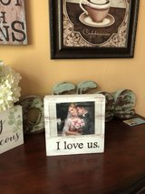 """Adorable """"I Love Us"""" box picture frame/holder! in Bolingbrook, Illinois"""