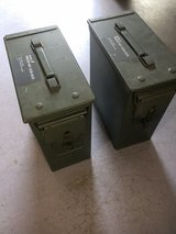 NVG Ammo cans in Fort Leonard Wood, Missouri