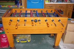 Foosball Table - Harvard full size with electronic score keeper in Orland Park, Illinois