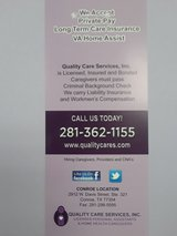 In Home Health Care / Caregiver in Spring, Texas