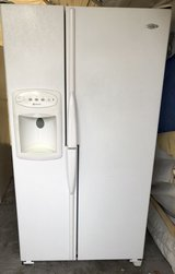 Maytag white refrigerator in Oceanside, California