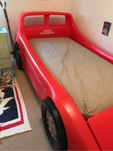 Little Tikes Red Twin Race Car Bed in New Lenox, Illinois