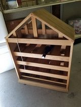 Wooden House Shaped Wine Rack #2345-2 in Wilmington, North Carolina