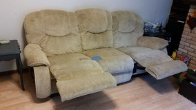 La-Z-Boy couch with recliners in Oswego, Illinois