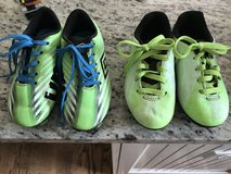 Toddler size 9 soccer cleats in Morris, Illinois