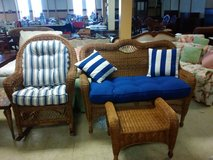3 piece wicker set in Norfolk, Virginia