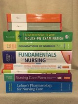 lot of 9 nursing books in New Lenox, Illinois