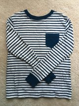 Lands' End Kids striped long sleeve shirt 5/6 in Chicago, Illinois