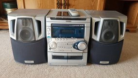 AIWA stereo system. in St. Charles, Illinois