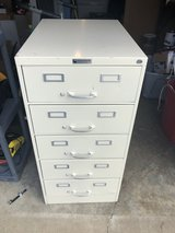 5 Drawer Filing Cabinet 26L x 19W x 40T in Fort Knox, Kentucky