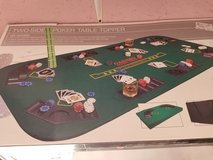 Poker Table Topper(NIB)Double Sided #701-162 in Camp Lejeune, North Carolina