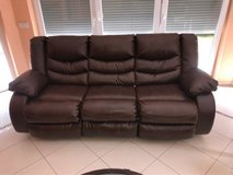Genuine Leather Couches in Ramstein, Germany