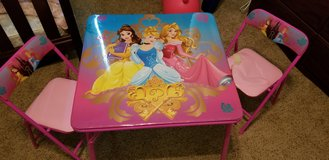 Disney Princess Table in Dover, Tennessee