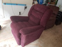 Burgundy Lazy Boy Recliner in Fort Benning, Georgia